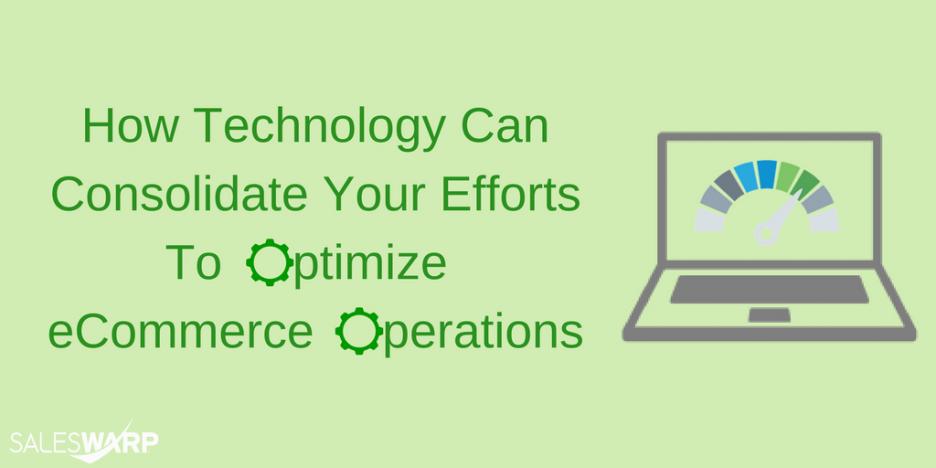 Optimize eCommerce Operations