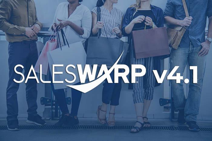 SalesWarp launches v4.1